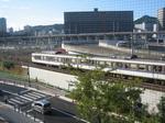 広島駅へと…