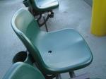 バルコニー席の座席…