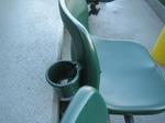 全席に設置されているカップホルダー…