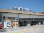 平屋の尾道駅…