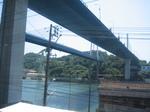 手前が新尾道大橋、奥が尾道大橋…