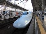 西日本所属のN700系…