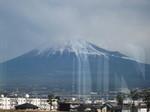 元日の富士山…