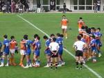 高校ラグビー決勝。春日丘×栄徳@瑞穂