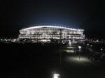 要塞のように光放つカシマスタジアム…